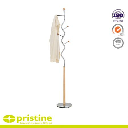 This well designed coat rack is the perfect addition to your home that will or waiting room at your business