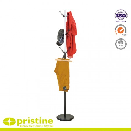 Free standing coat rack is perfect for any entryway, bedroom, or office