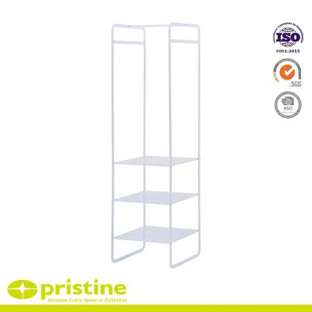 Multifunctional Hanger Rack - Simple style white hanger