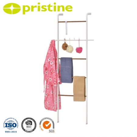 Modern Towel Ladder with Powder Coating Finish