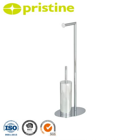 Toilet Paper and Brush Stand