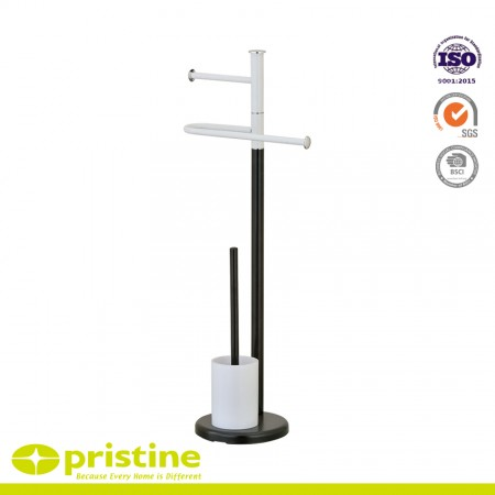 Free Standing Toilet Brush and Paper Holder - Toilet brush and paper holder stand