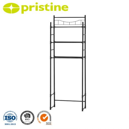 3-Tier Shelf Space Saver - Easy assembly, no tools required.