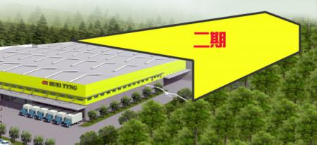 Simulation diagram of the Xianxi Factory of the second project