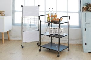 FOLDABLE SERVICE CARTS