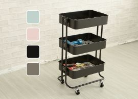 Metal Shelf Rolling Carts