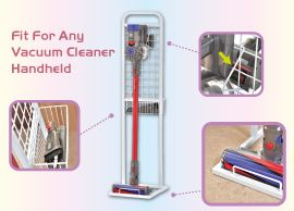 Metal Storage Vacuum Cleaner Stand