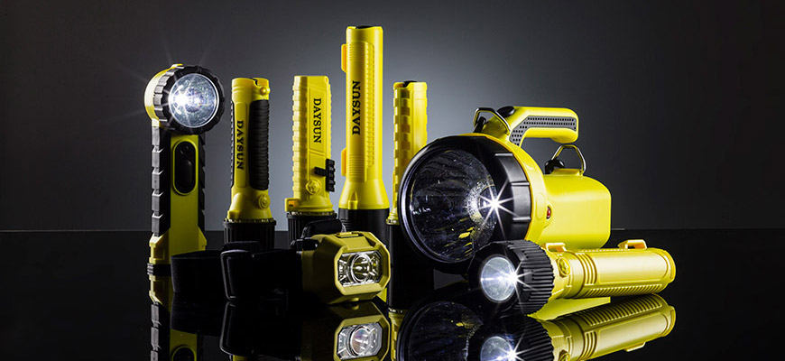 Anti-Explosions-Taschenlampe (Für den Einsatz in Gefahrenbereichen)