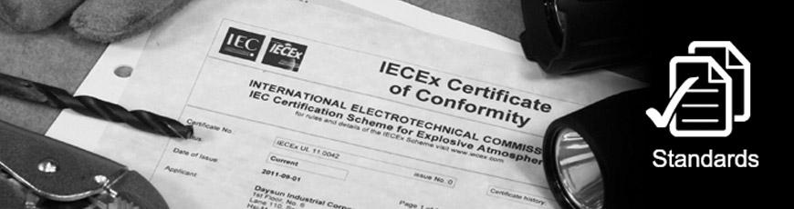 Universelles Zertifikat: ANSI / EN166 / AS 1337 / CSA / ISO 9001
