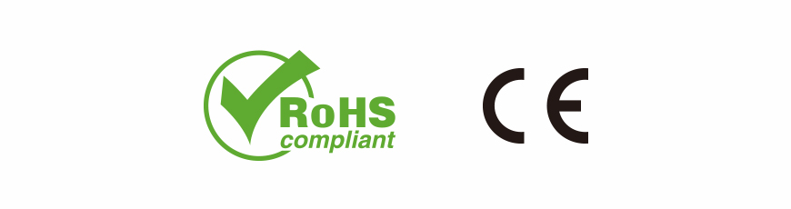 CE-European Conformity / RoHS-Restriction of Hazardous Substances Directive