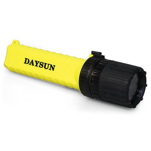 Intrinsically Safe Flashlight With Adjustable Beam