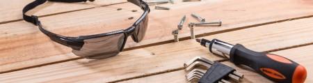 Schutzbrille - Schutzbrillen, PSA-Ausrüstung zum Schutz der Augen