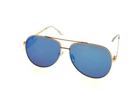 Metal sunglasses for men stylish - Classic Aviator design sunglasses