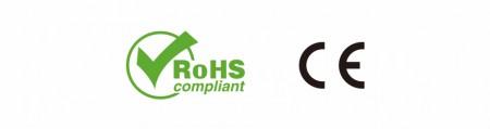 CE & RoHS (مصباح يدوي) - المطابقة الأوروبية CE / توجيه تقييد استخدام المواد الخطرة (RoHS)
