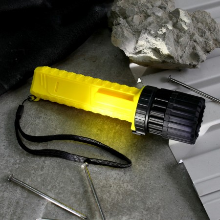 Anti-Explosion Flashlight With Adjustable Beam
