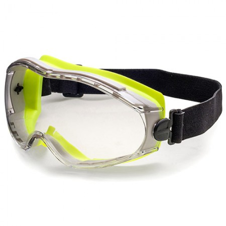 Safety Goggle - Double injection rubber frame design