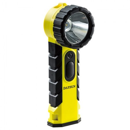 IMPA 792288 Intrinsically Safe LED Flashlight - Anti-Explosion Angle Llight (For use in hazardous locations or mining locations)