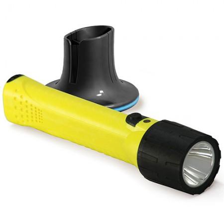 Wiederaufladbare Taschenlampe (W / Lithium-Batterien) - Wiederaufladbare Taschenlampe