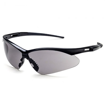 Safety Glasses - Classic safety glasses design with soft nose pad and rubber temple