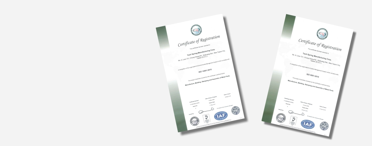 ISO Accredited Certification