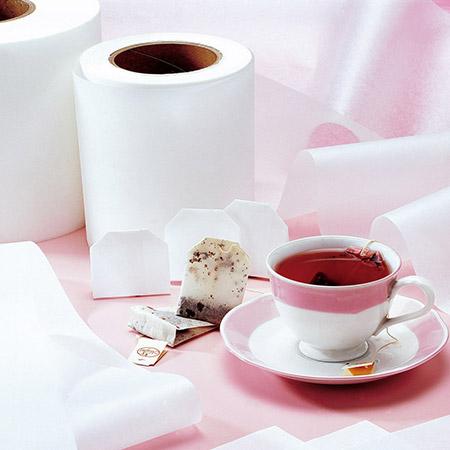Papel de filtro para bolsitas de té, termosellable