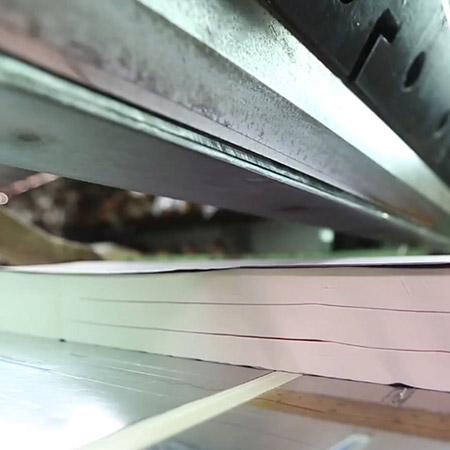تخصيص الورق