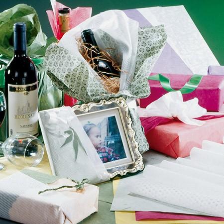 Papel de regalo y arte