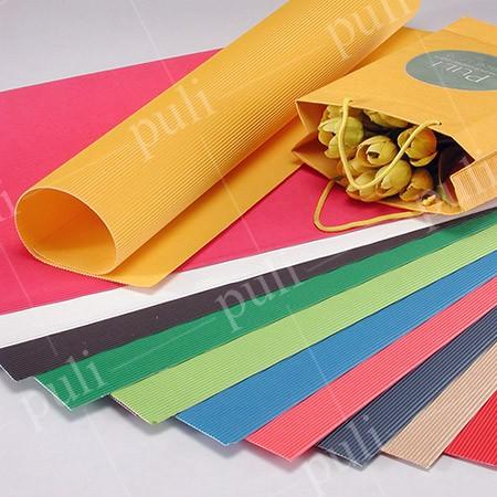 Лист цветной гофрированной бумаги E - Производитель листов гофрированной бумаги