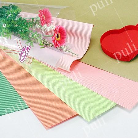 Лист цветной гофрированной бумаги F - Производитель листов гофрированной бумаги