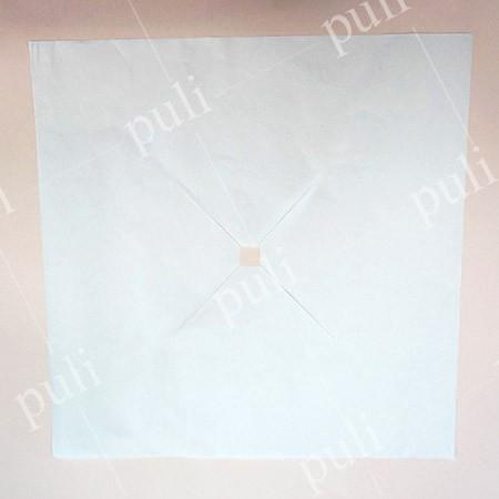 ورق غلاف لوسادة الوجه - غطاء فتحة الوجه لطاولة التدليك