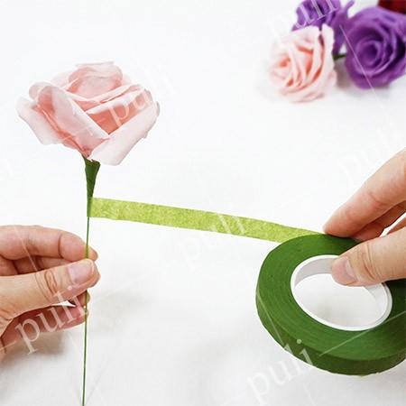 芙洛拉花藝膠帶 - 縐紋紙膠帶