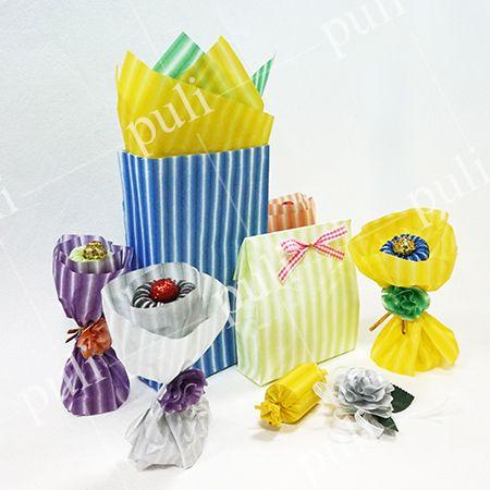 Papel de seda de regalo de color premium