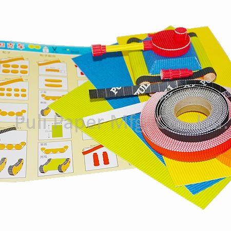 مجموعات الحرف المصغرة من الورق المموج - الشركة المصنعة لمجموعات الورق المموج