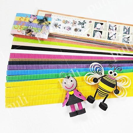 شرائط الورق المموج الملونة E Flute - مصنع شرائط الورق المموج