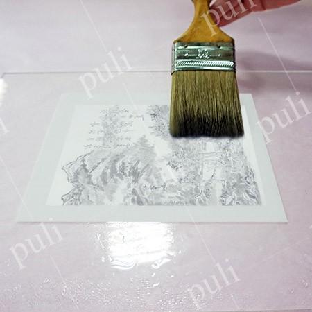 中国の筆塗りと書道のためのウェットマウンティングペーパー