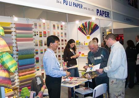 Puli Paper in Trade Show
