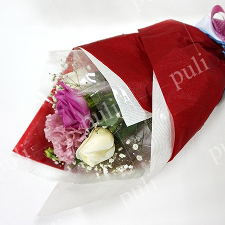 Κερωμένο λουλούδι ιστών χαρτιού - Κερωμένος κατασκευαστής χαρτιού λουλουδιών ιστών