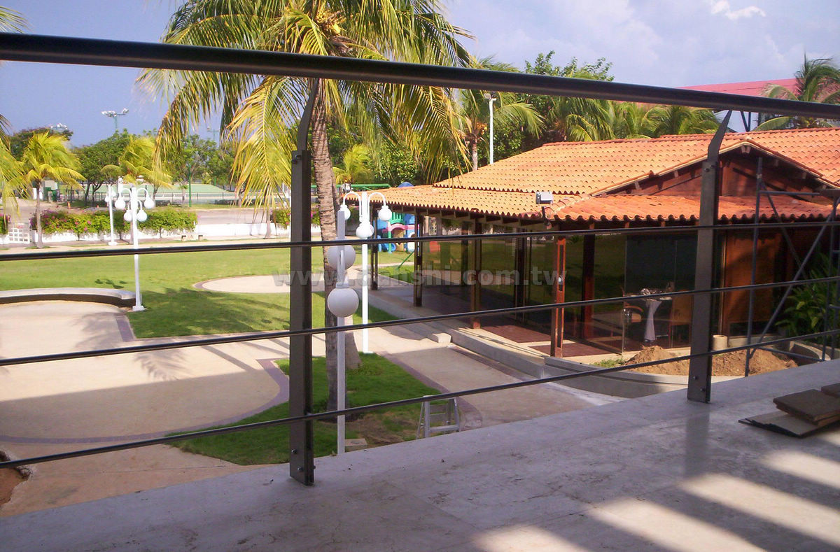 Handrail and Balusters Story for Club Nautico