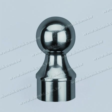 """الفولاذ المقاوم للصدأ جولة أنبوب الكرة نوع نهاية كاب - الكرة الحجم 2 """" - الفولاذ المقاوم للصدأ جولة أنبوب الكرة نوع نهاية كاب - الكرة الحجم 2 """""""