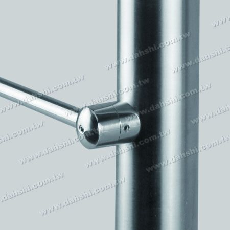 Stainless Steel Tube/Bar Holder Close End - Stainless Steel Tube/Bar Holder Close End