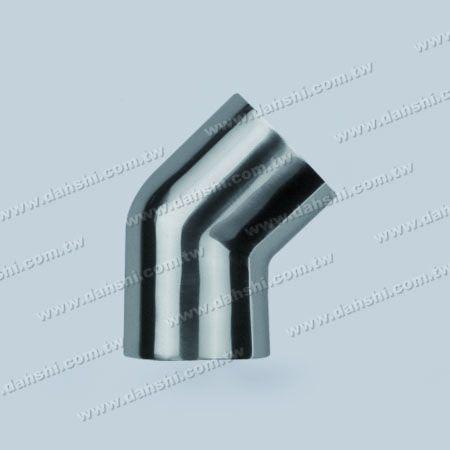 الفولاذ المقاوم للصدأ جولة أنبوب خارجي 135 درجة موصل - زاوية يمكن أن تكون مخصصة - الفولاذ المقاوم للصدأ جولة أنبوب خارجي 135 درجة موصل - زاوية يمكن أن تكون مخصصة