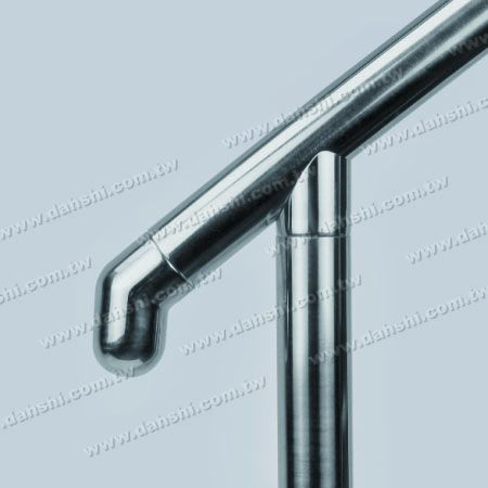 Stainless Steel Round Tube 135degree Handrail End Dome Top - Stainless Steel Round Tube 135degree Handrail End Dome Top