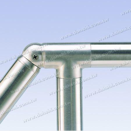 الفولاذ المقاوم للصدأ جولة أنبوب الداخلية الكوع الكرة زاوية قابل للتعديل - الفولاذ المقاوم للصدأ جولة أنبوب الداخلية الكوع الكرة زاوية قابل للتعديل