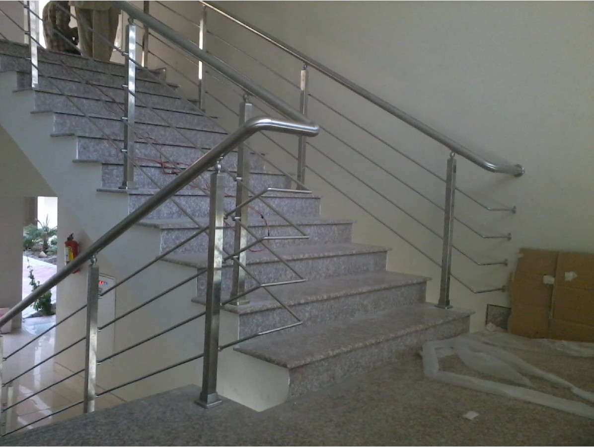 Handrail and Balusters Story for Institute of Business Administration (IBA)