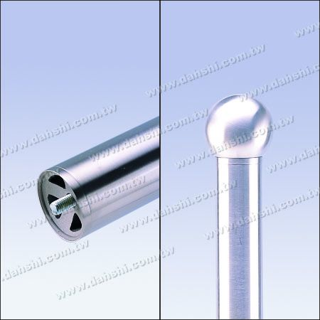 Stainless Steel Accessories can be applied on connecting hollow ball and round tube – external, put on tube