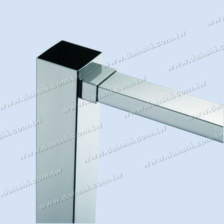 Stainless Steel Rectangle Tube Handrail End