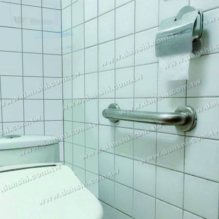 Stainless Steel Handrail Fittings for Disability & Bathroom