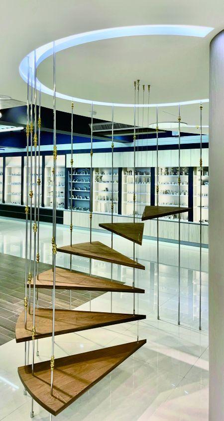Installation Art - Installation Art Stair of Showroom