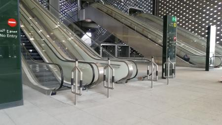 Picture Gallery of Stainless Steel Balustrade Installations at Haramain High Speed Rail Makkah Station