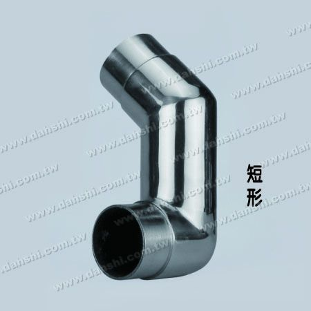 Stainless Steel Round Tube Internal Stair Corner Extra Length Connector - Angle Can Be Customized - Stainless Steel Round Tube Internal Stair Corner Extra Length Connector - Angle Can Be Customized